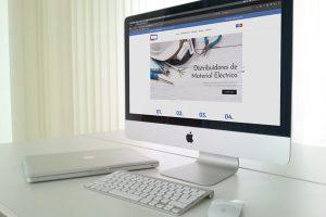 página web Línea Distribución